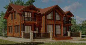 проекты домов из дерева
